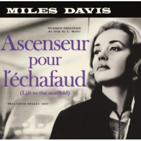 MILES DAVIS : LP+CD Ascenseur Pour L'Échafaud