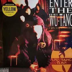 WU-TANG CLAN : LP Enter The Wu-Tang (36 Chambers) - Yellow