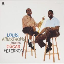 PETERSON Oscar / ARMSTRONG Louis : LP Louis Armstrong Meets Oscar (2010)