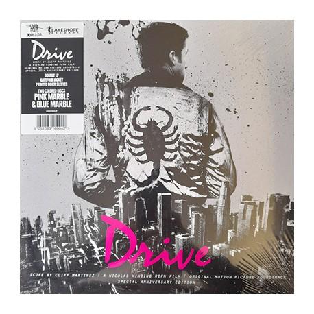 MARTINEZ Cliff : LPx2 Drive (Pink & Blue)