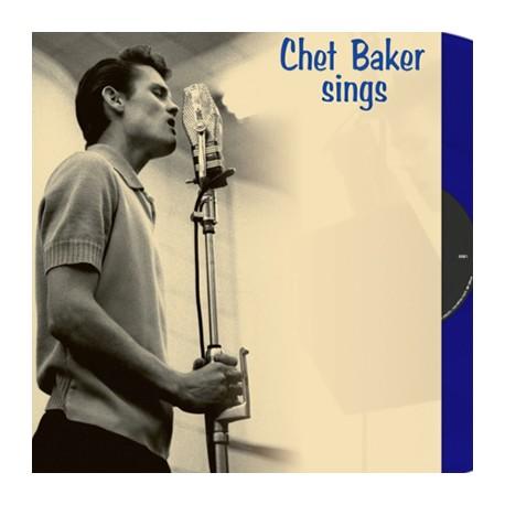BAKER Chet : LP Chet Baker Sings (blue)
