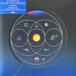 COLDPLAY : LP Music Of The Spheres