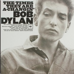 DYLAN Bob : LP The Times They Are A-Changin'