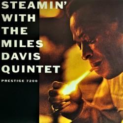 MILES DAVIS : LP Steamin' With The Miles Davis Quintet