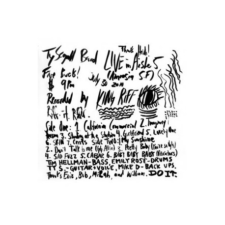 TY SEGALL : LP Live In Aisle Five