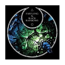 SPLIT LP FARFLUNG / BLACK RAINBOWS