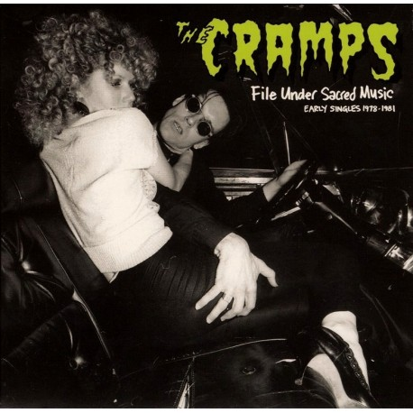"""CRAMPS (the) : 10x7"""" File Under Sacred Music"""