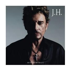 """HALLYDAY Johnny : 10""""EP Autoportrait"""