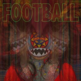 "ALLIGATOR INDIAN : 10""EP Football"