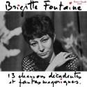 FONTAINE Brigitte : LP 13 chansons décadentes et fantasmagoriques