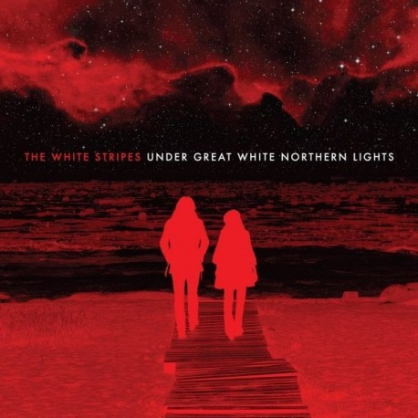 WHITE STRIPES (the) : CD+DVD Under Great White Northern Lights