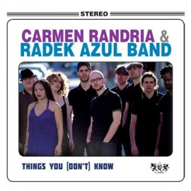 CARMEN RANDRIA AND THE RADEK AZUL BAND : LP Things You (don't) Know