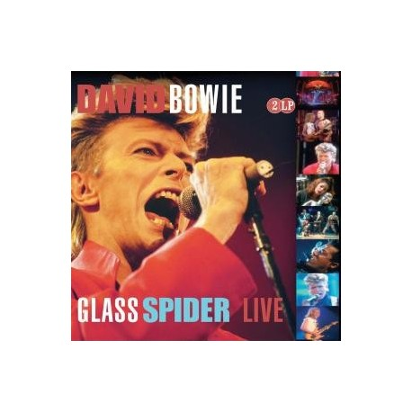 BOWIE David : LPx2 Glass Spider Live