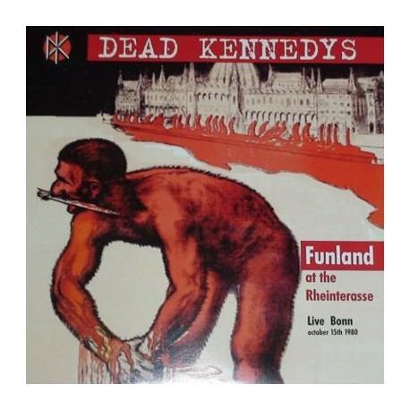 DEAD KENNEDYS : LP Funland At The Rheinterasse