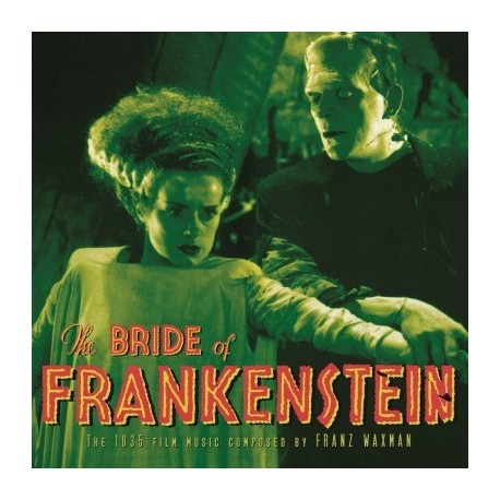 WAXMAN Franz : LP The Bride Of Frankenstein