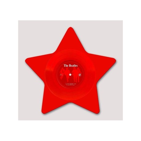 """BEATLES (the) : 10""""EP Love Me Do Star Red"""