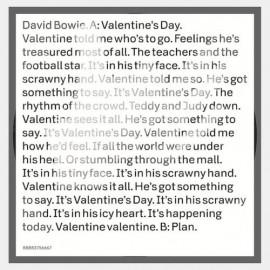 BOWIE David : Valentine's Day