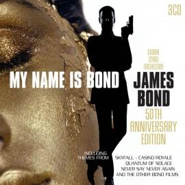 VARIOUS : CDx3 My Name Is Bond, James Bond