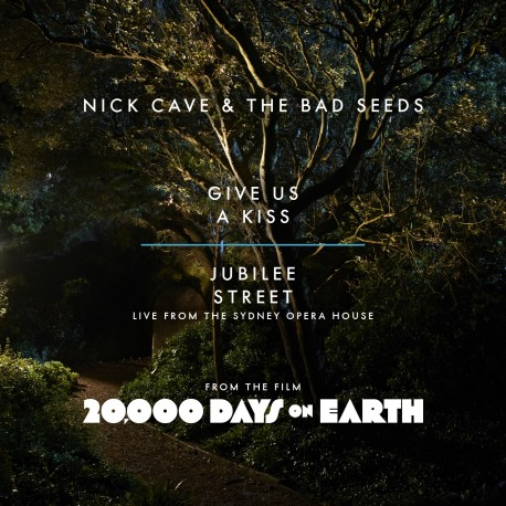 """CAVE Nick & The Bad Seeds : 10""""EP Give Us A Kiss"""
