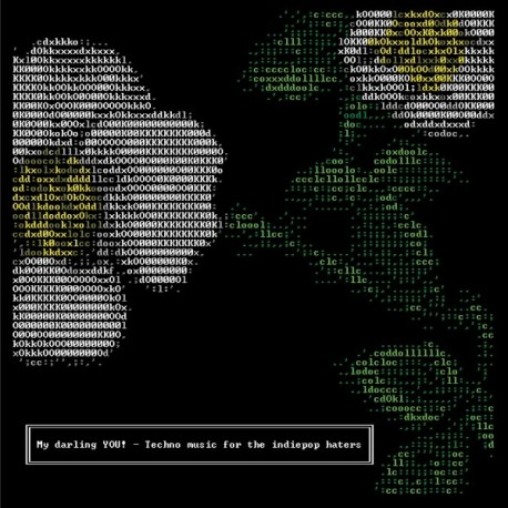 """MY DARLING YOU! : 12""""EP Techno Music For The Indiepop Haters"""