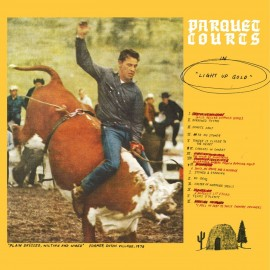 PARQUET COURTS : CD Light Up Gold