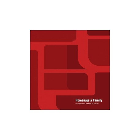 VARIOUS : CD Homenaje A Family (Un Soplo En El Corazón De Elefant)