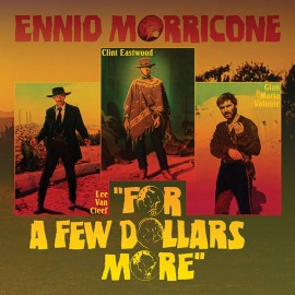 "MORRICONE Ennio : 10""LP For A Few Dollars More"