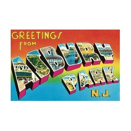 BRUCE SPRINGSTEEN : LP Greetings from Asbury Park, N.J.
