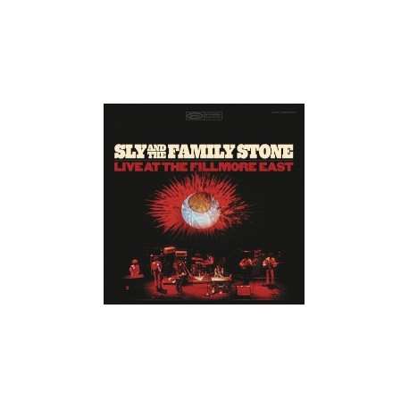 SLY & THE FAMILY STONE : LPx2 Live at the Fillmore