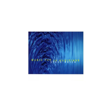 STEVE REICH : LPx2 Music for 18 Musicians