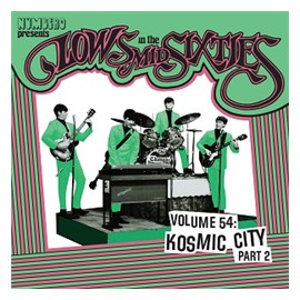 VARIOUS ARTISTS : Lows In The Mid Sixties Volume 54 : Kosmic City Part 2