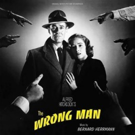 HERRMANN Bernard : LP The Wrong Man
