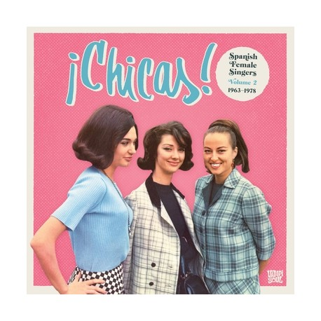 VARIOUS : 2xLP Chicas Spanish Female Singers Vol2