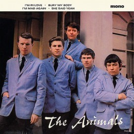 """ANIMALS (the) : 10""""EP I'm In Love"""