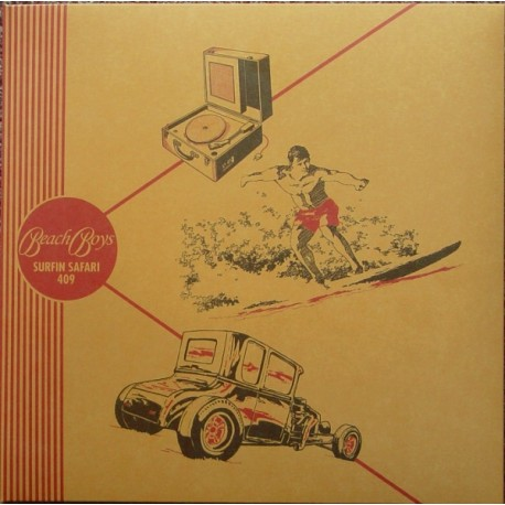 "BEACH BOYS (the) : 10""EP Surfin' Safari"