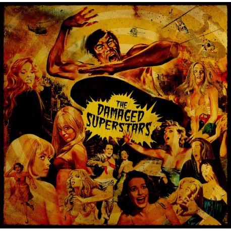 "DAMAGED SUPERSTARS (the) : 10""EP Now Scream"