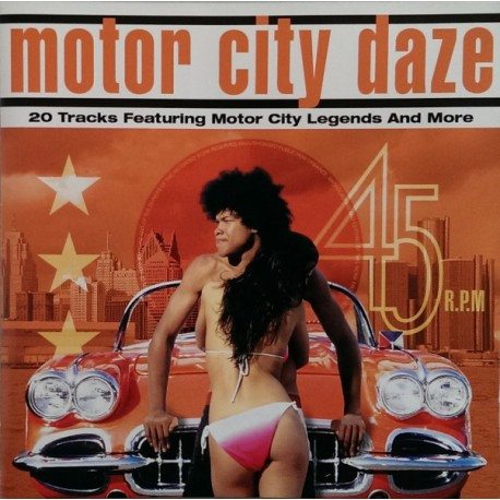 VARIOUS : CD Motor City Daze