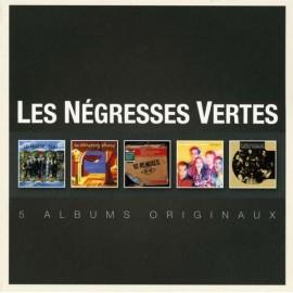 NEGRESSES VERTES (les) : CDx5 Original Album Series