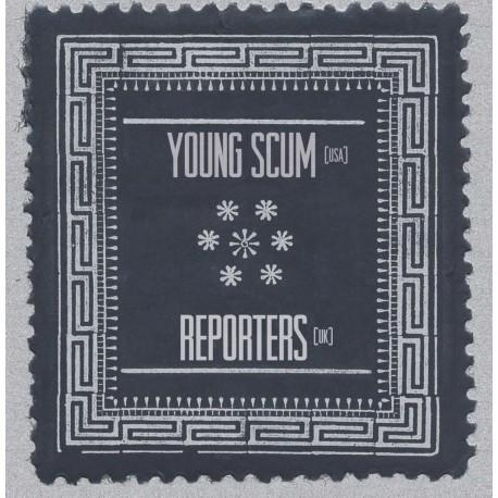 SPLIT YOUNG SCUM / REPORTERS