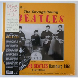 BEATLES (the) : LP+CD This Is... The Savage Young Beatles