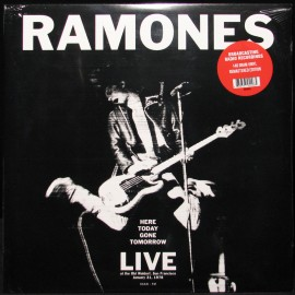 RAMONES (the) : LP Here Today Gone Tomorrow