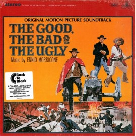 MORRICONE Ennio : LP The Good, The Bad And The Ugly