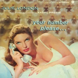 JULIE LONDON : LP Your Number Please