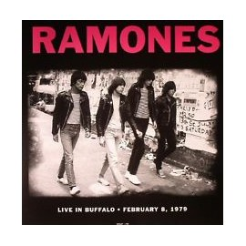 RAMONES (the) : LP Live In Buffalo, February 8, 1979