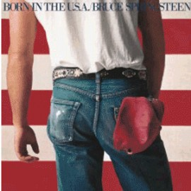 BRUCE SPRINGSTEEN : LP Born in the U.S.A.