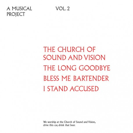 OLDER WISER HARDER : CD Volume Two The Church Of The Sound Of Vision