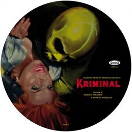 PREGADIO Roberto & MUSSOLINI Romano : LP Picture Kriminal